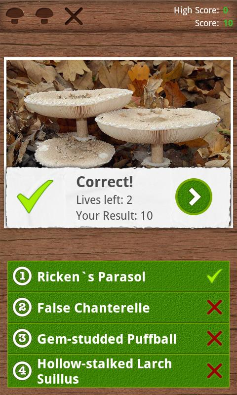 Mushrooms PRO - NATURE MOBILE- screenshot