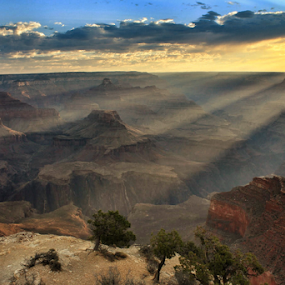 Sunrise at the Canyon by Jason Arand - Landscapes Sunsets & Sunrises