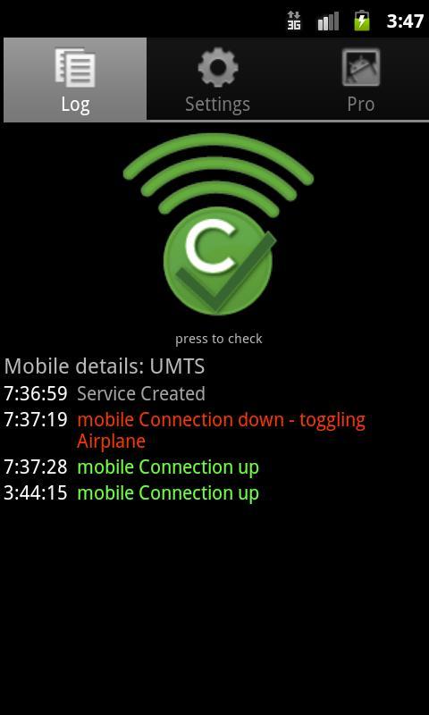 Connection Checker Pro- screenshot