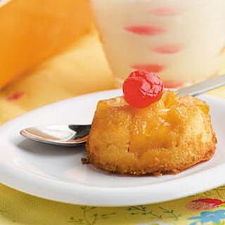 Pineapple Upside-Down Cupcakes.