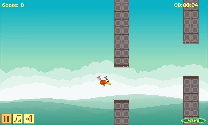 Falling Bird- screenshot