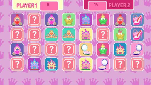 Little Princess Memory Game