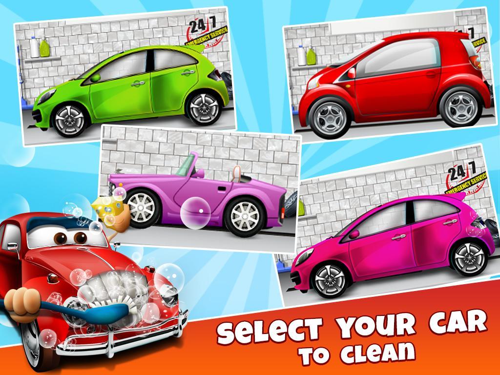 car wash salon kids screenshot