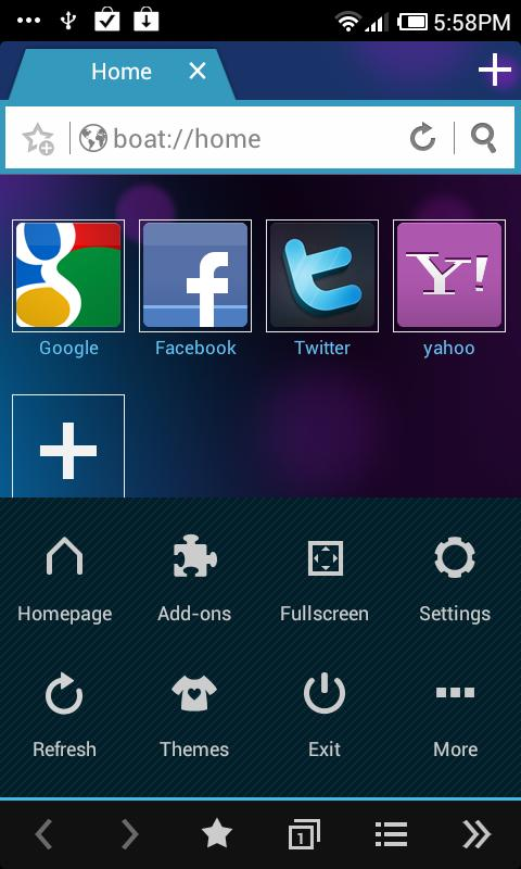 ICS Boat Browser Theme - screenshot