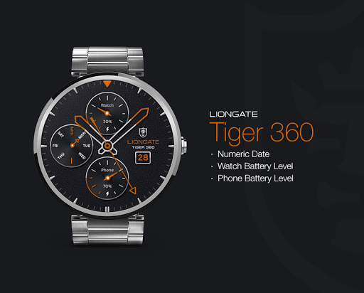 Tiger 360 watchface by Liongat