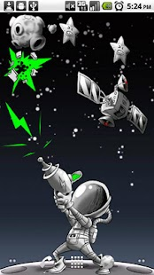 Space Junk Live Wallpaper - screenshot thumbnail