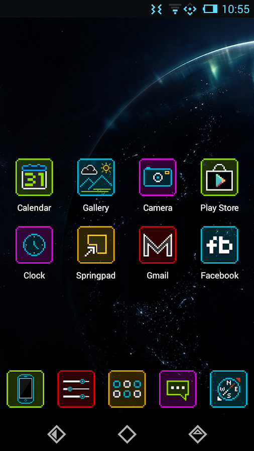 Neon Pixelz - Icon Pack- screenshot