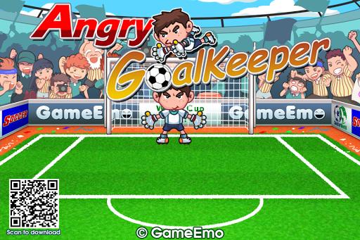 Angry GoalKeeper