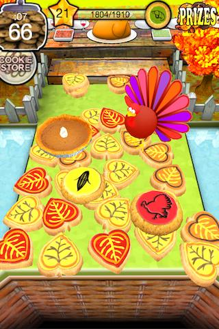 Cookie Dozer Thanksgiving - screenshot
