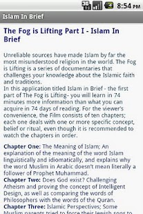 Islam in Brief - screenshot thumbnail