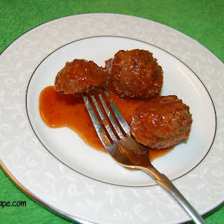 The Easiest Sweet and Sour Meatballs Ever.