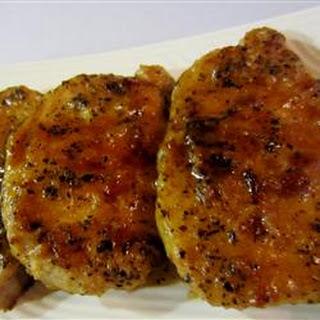 Pork Chops with Basil and Marsala.