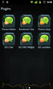 GO SMS Pro Z.Halloween Theme - screenshot thumbnail