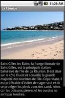 Screenshot of Guide de Voyage : La Réunion