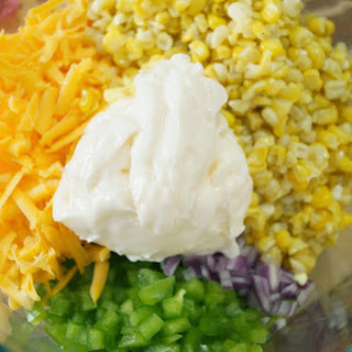 Corn Salad and a Tailgate Party Hop