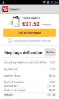 Screenshot of JUST EAT - Pizza a Domicilio
