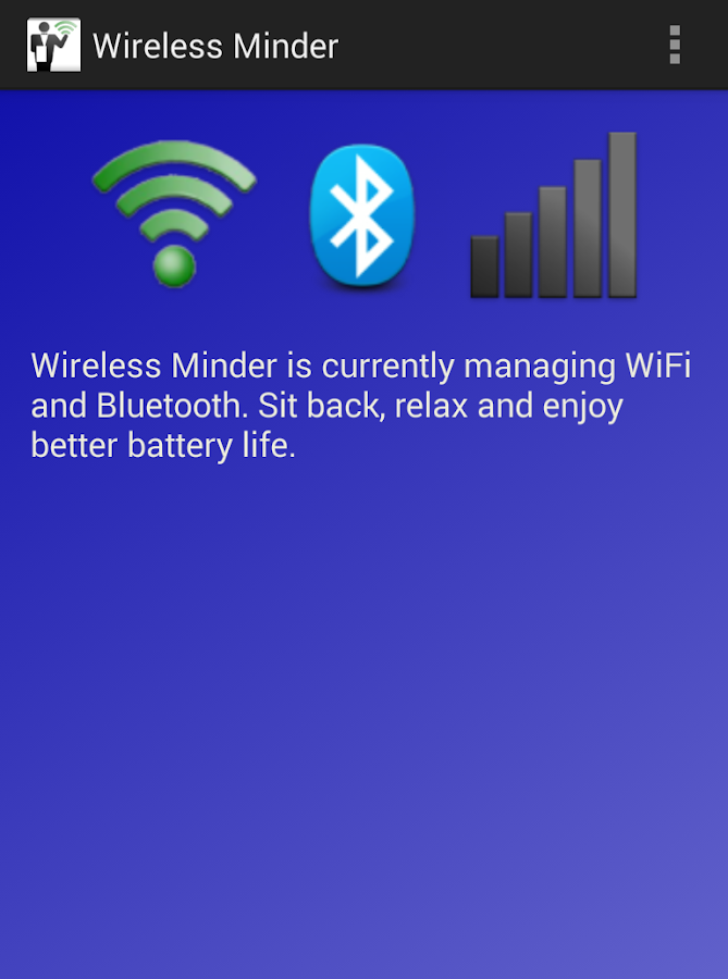 Wireless Minder- screenshot