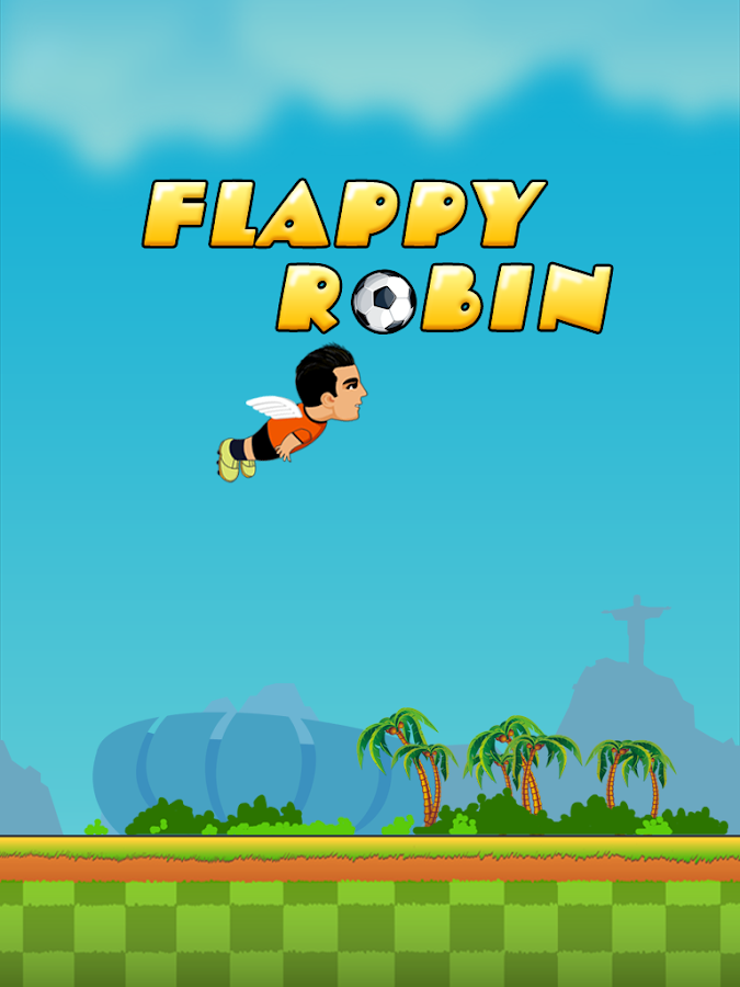 Flappy Robin- screenshot