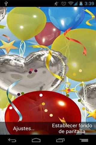Fondo Animado Feliz Cumpleaños