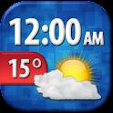 Cool Weather Clock Widget icon