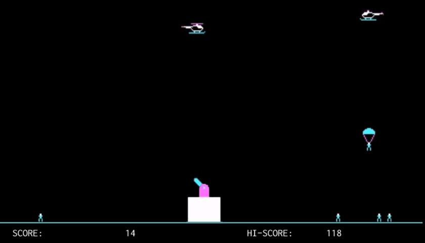 Paratrooper Classic - screenshot