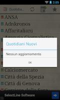 Screenshot of Quotidiani Italiani