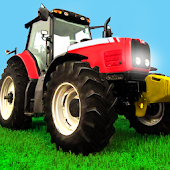 Farm Tractor Realistic Parking