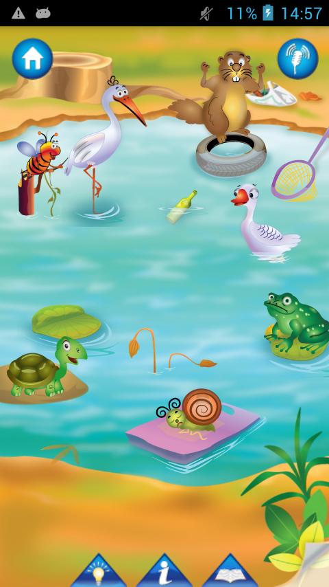Kids Draw Color Hygiene Story Screenshot