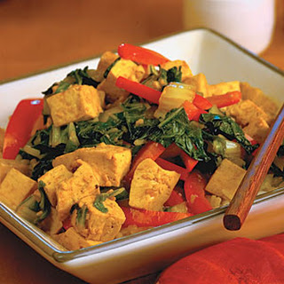 Hoisin Tofu and Vegetables.