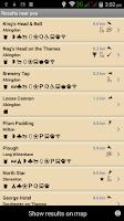 Screenshot of CAMRA Good Beer Guide