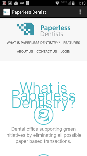Paperless Dentist