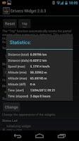 Screenshot of Drivers Widget - Speedometer