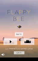 Screenshot of Flappy Bee