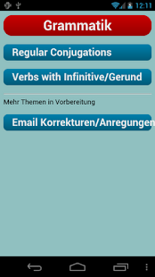English Verbs - screenshot thumbnail