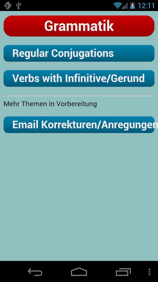English Verbs - screenshot