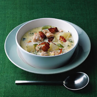 Salmon and Dill Chowder.
