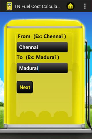 TN Fuel Cost Calculator