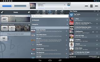 Screenshot of NuVo Player