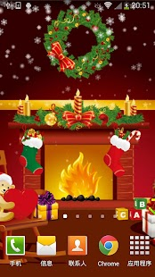 Christmas Cute Live Wallpaper - screenshot thumbnail