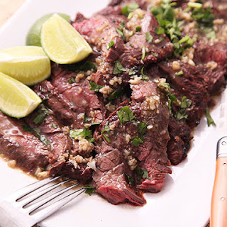 Grilled Mojo-Marinated Skirt Steak.