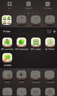 X-Higan_GO Launcher Theme - screenshot thumbnail