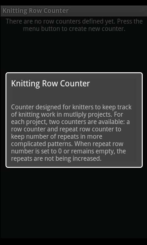 Knitting Counter- screenshot