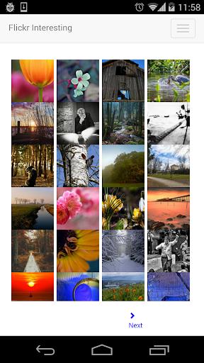 Flickr Interesting
