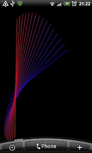 Chasing Lines Live Wallpaper - náhled