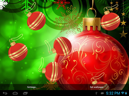 Galaxy S4 Christmas Live WP - screenshot thumbnail