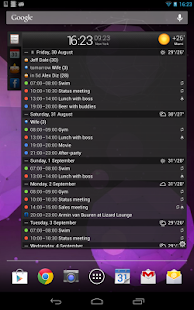 All-in-One Agenda widget- screenshot thumbnail