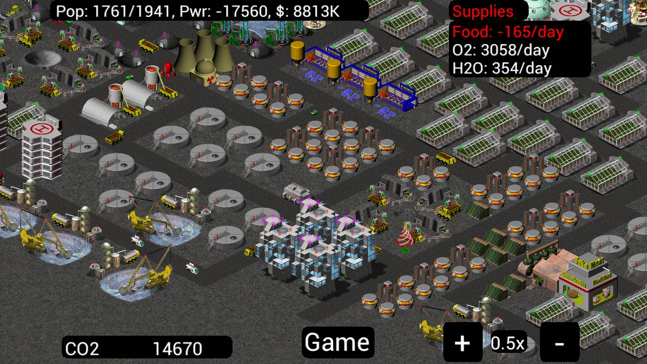 Moonbase Down Game