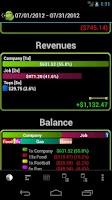 Screenshot of MoneyDroid Lite
