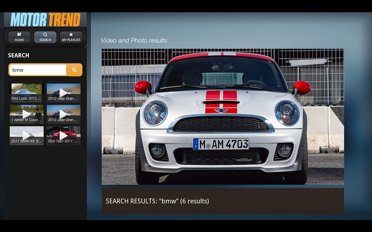 MotorTrend- screenshot