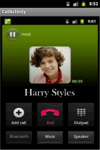 Harry Styles Calls - screenshot